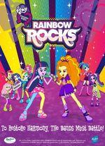 Affiche Rainbow Rocks