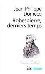 Couverture Robespierre, derniers temps