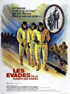 Affiche Les Évadés de la planète des singes