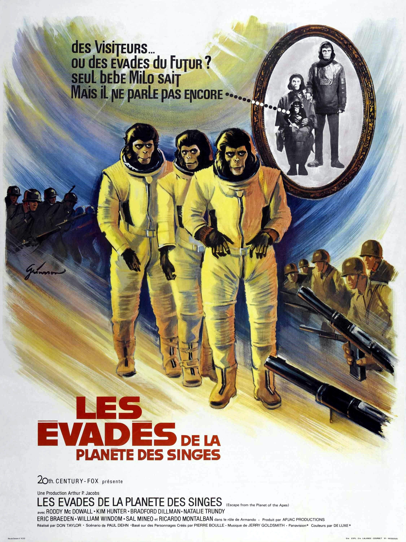 Les Évadés de la planète des singes - Film (1971) - SensCritique