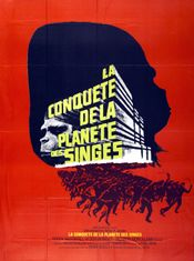 Affiche La Conquête de la planète des singes