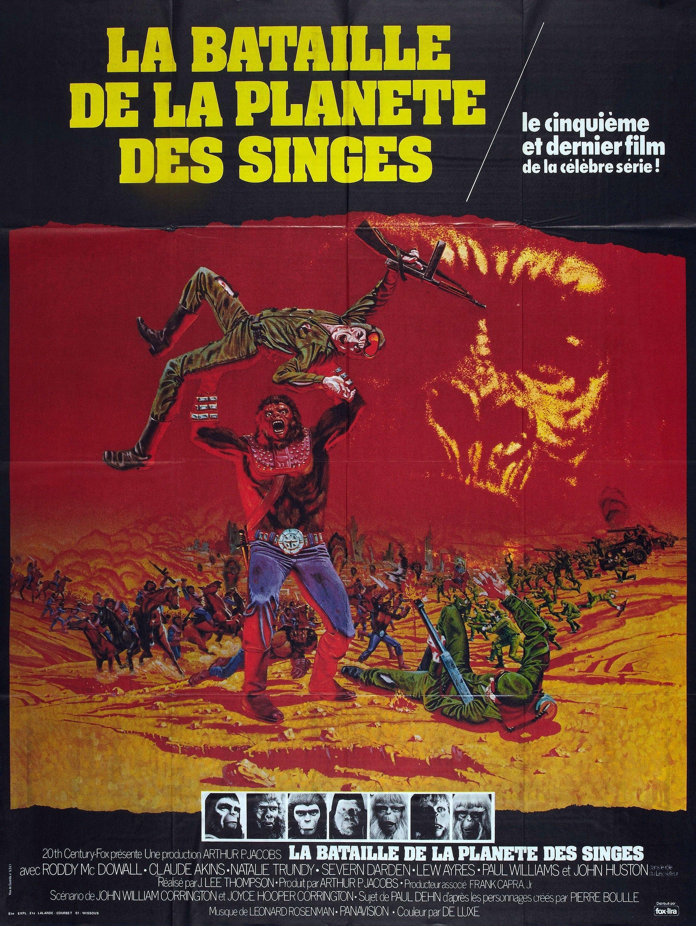 La Bataille de la planète des singes - Film (1973) - SensCritique