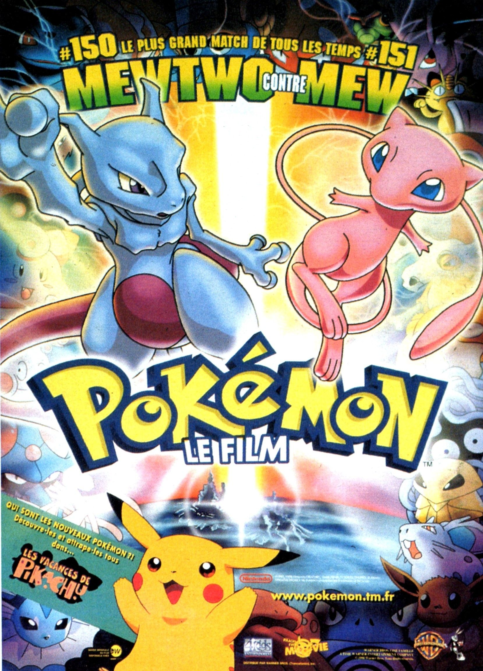 Pokémon Le Film Long Métrage Danimation 1998