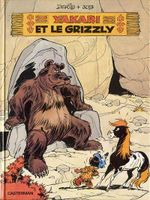 Couverture Yakari et le Grizzly - Yakari, tome 5