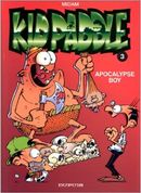Couverture Apocalypse boy - Kid Paddle, tome 3