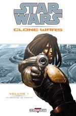 Couverture La Défense de Kamino - Star Wars : Clone Wars, tome 1