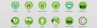 Cover La liste des badges SensCritique