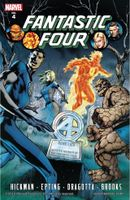 Couverture Fantastic Four by Jonathan Hickman, tome 4