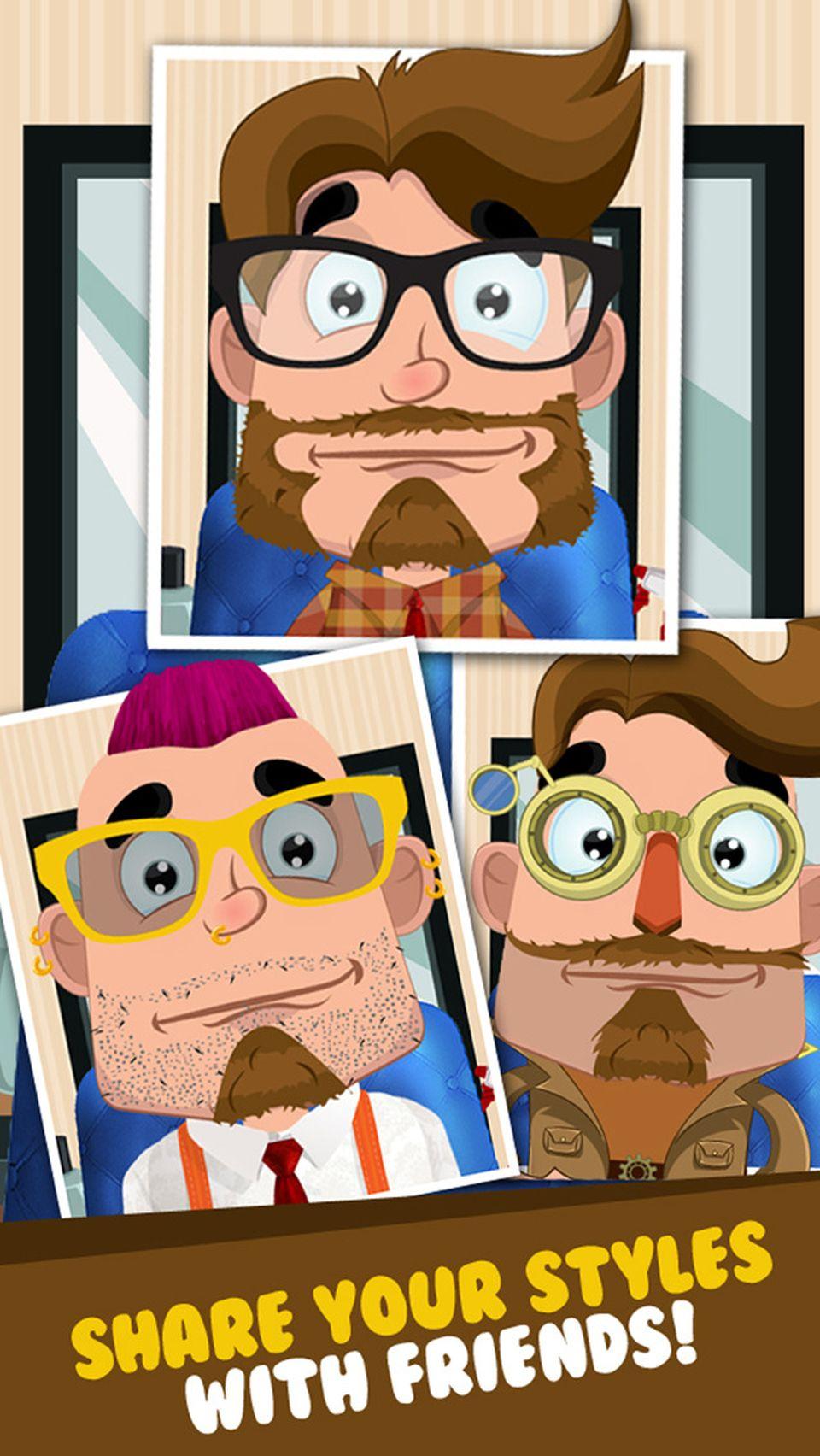 Beautiful barbe jeu de salon coupe cheveux jeux gratuits - Jeux de salon de toilettage pour animaux gratuit ...