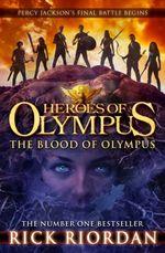 Couverture Le Sang de l'Olympe - Les Héros de l'Olympe, tome 5