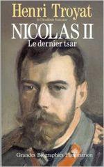 Couverture Nicolas II