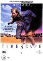 Affiche Timescape, le passager du futur