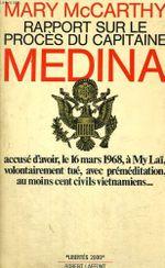 Couverture Rapport sur le Procès du Capitaine Medina
