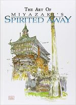 Couverture The Art of Spirited Away
