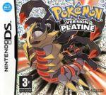 Jaquette Pokémon Platine