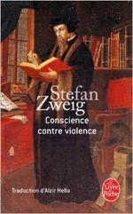 Couverture Conscience contre violence