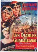 Affiche Les Diables de Guadalcanal