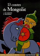 Couverture 13 Contes de l'empire Mongol