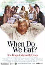 Affiche When Do We Eat?