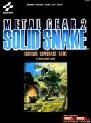 Jaquette Metal Gear 2 : Solid Snake