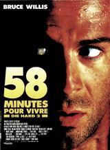 Affiche 58 minutes pour vivre