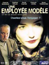 Affiche Une employée modèle