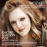 Pochette Complete Violin Concertos / Sinfonia Concertante, K. 364