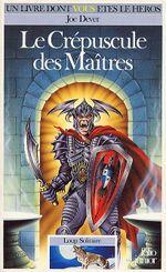 Couverture Le Crépuscule des maîtres - Loup solitaire, tome 12