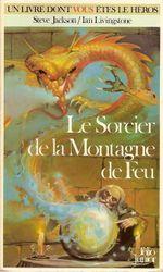 Couverture Le Sorcier de la montagne de feu - Défis fantastiques, tome 1