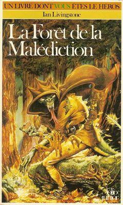 Couverture La Forêt de la malédiction - Défis fantastiques, tome 3