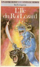 Couverture L'Île du Roi Lézard - Défis fantastiques, tome 7
