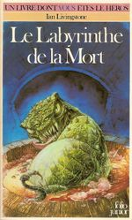 Couverture Le Labyrinthe de la mort - Défis fantastiques, tome 6