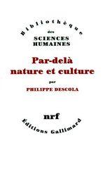 Couverture Par-delà nature et culture
