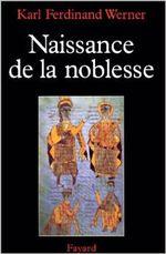 Couverture Naissance de la noblesse