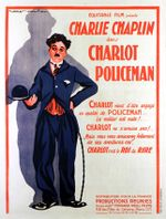 Affiche Charlot policeman