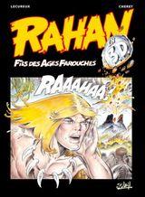 Couverture Rahan (best of en 3D) : L'enfance et la mort de Rahan, et autres histoires