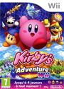Jaquette Kirby's Adventure Wii
