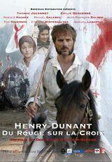 Affiche Henry Dunant, du rouge sur la croix
