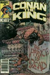 Couverture Conan the King (1984 - 1989)