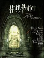 Jaquette Harry Potter and the Order of the Phoenix : The Mobile Game