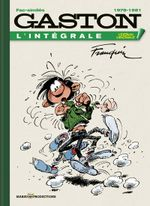 Couverture 1978-1981 - Gaston (L'Intégrale Version Originale), tome 15