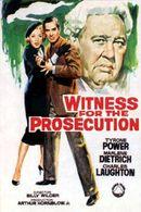 Affiche Témoin à charge