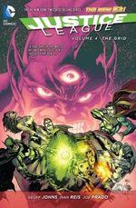 Couverture Justice League Vol. 4: The Grid