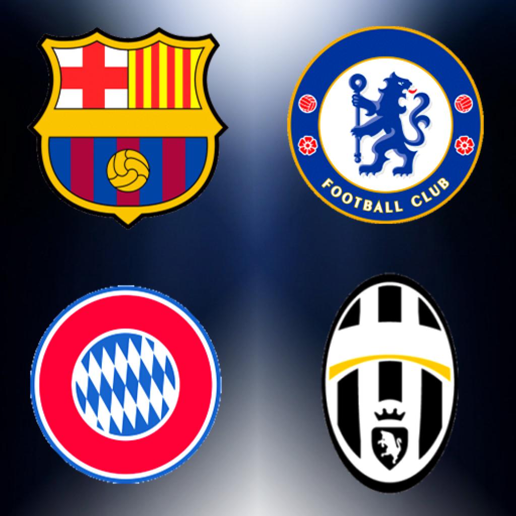 Affiches posters et images de football quipe logo quiz 2014 - Logo club foot bresil ...