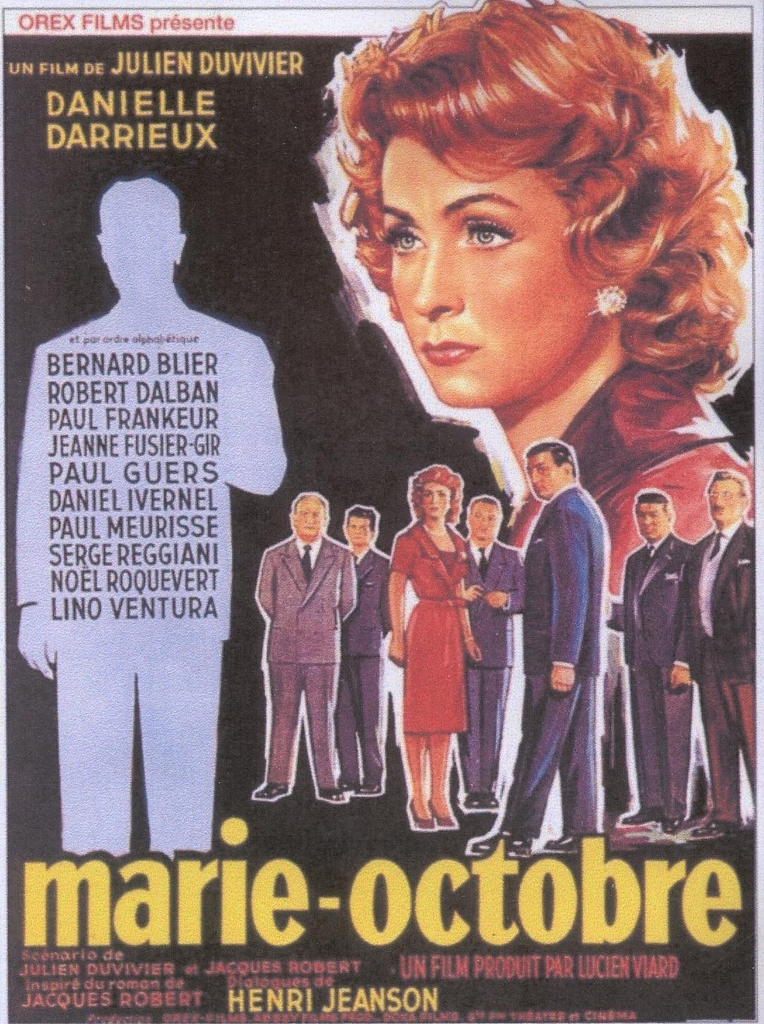 Marie Octobre Film 1959 Senscritique