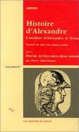 Couverture Histoire d'Alexandre