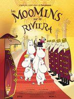 Affiche Les Moomins sur la Riviera