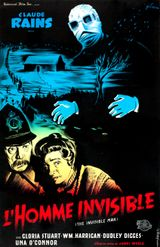 Affiche L'Homme invisible