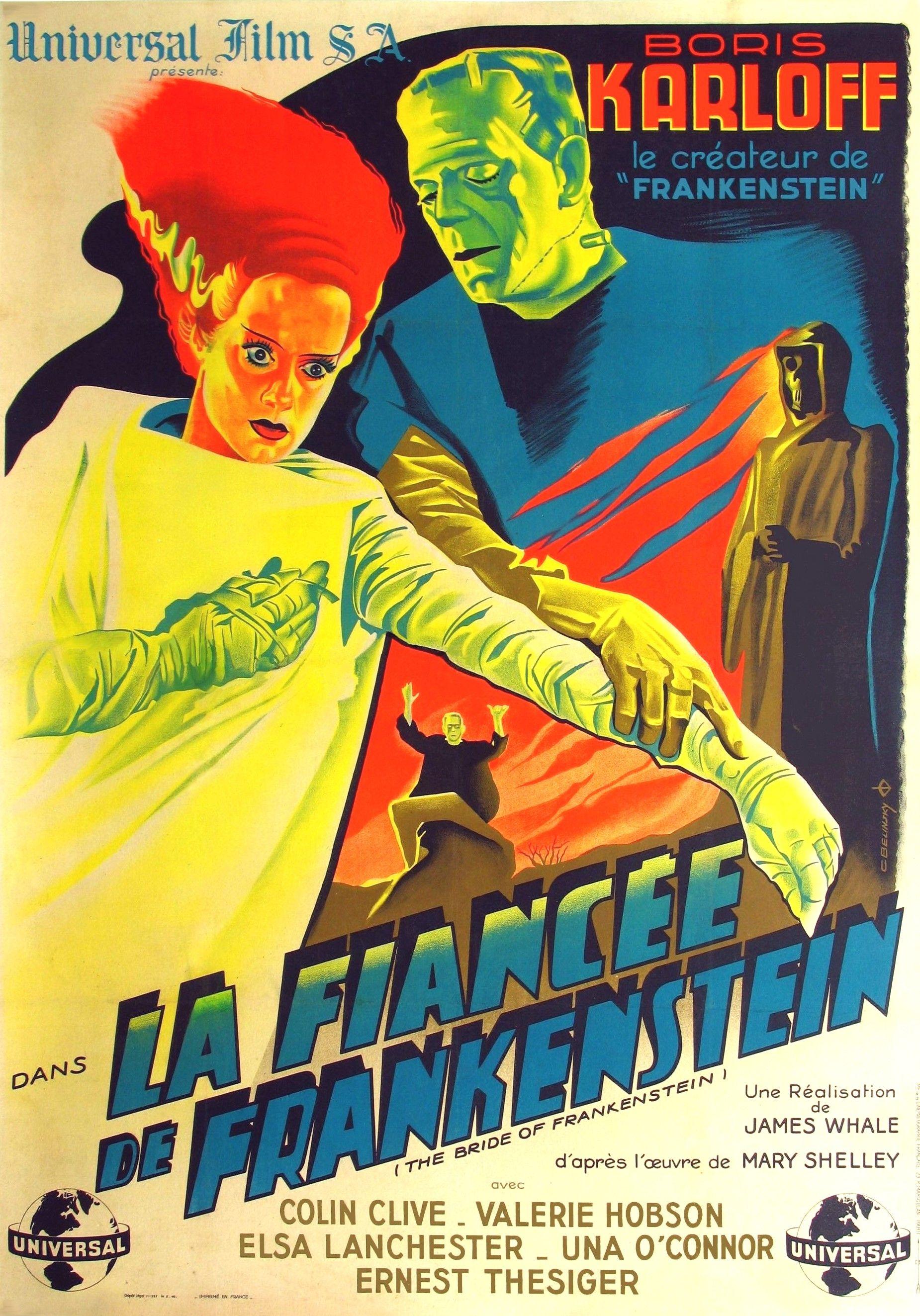 Abuser de la mariée de Frankenstein