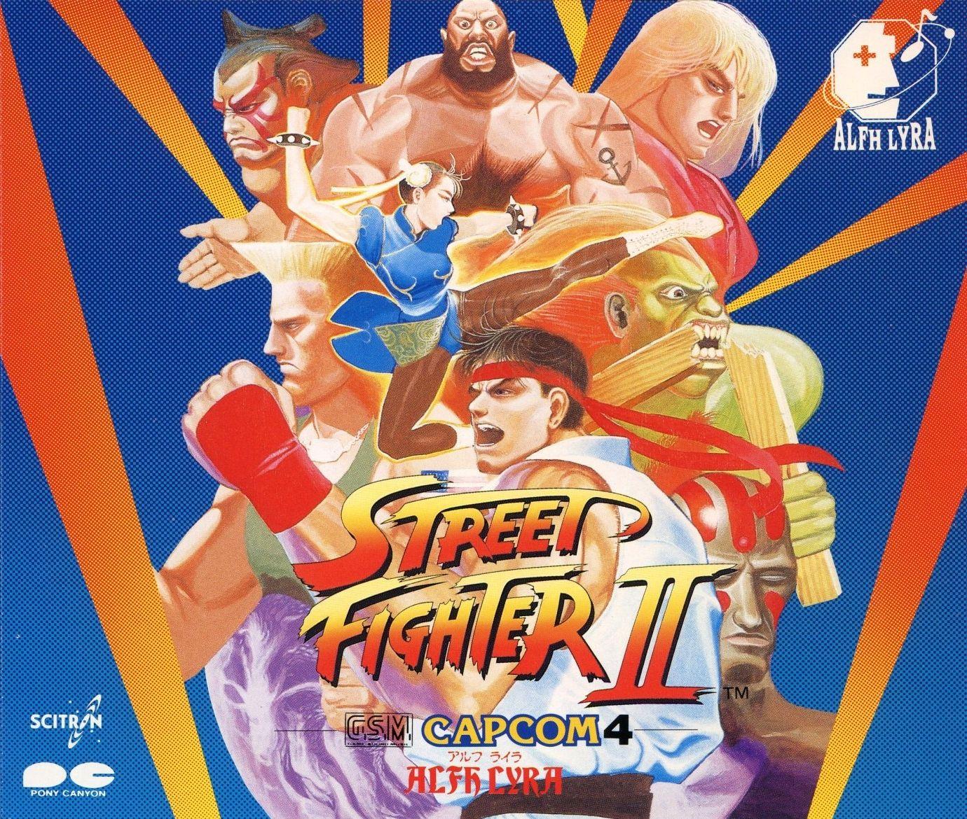Street Fighter II -G.S.M. CAPC...